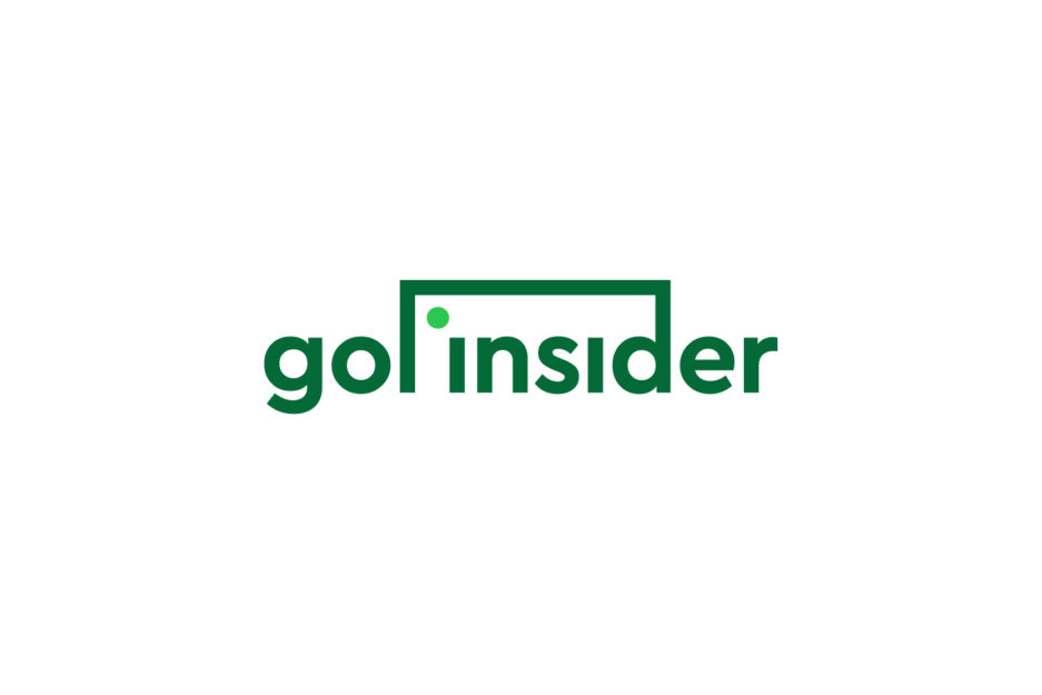 Dizajn logotipa za nogometni blog, sportski logotip, vizualni identitet za web