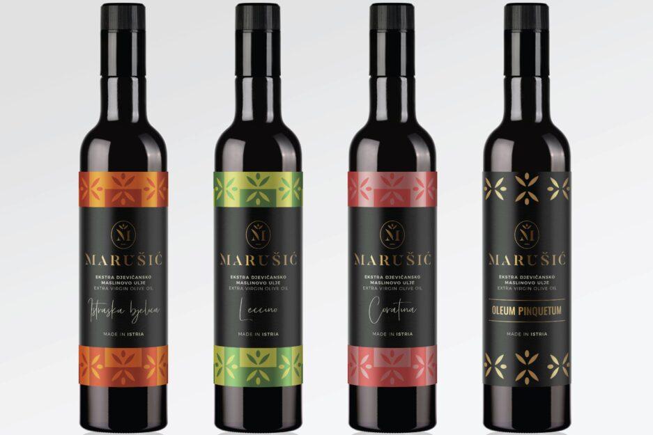 dizajn etiketa za maslinovo ulje