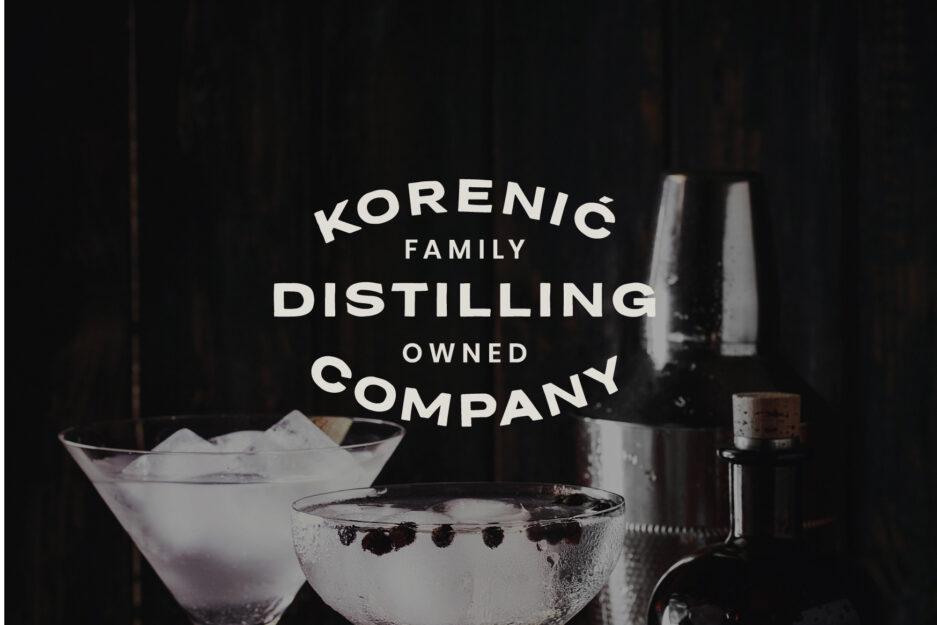 Dizajn logotipa za gin, rakiju, vino, pivo, alkoholna pića, Istra, Hrvatska